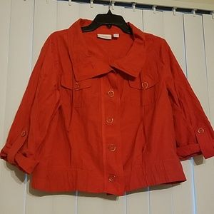 ❣Chico's❣ Button Down Jacket